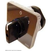 Пакетный переключатель АсКО ПКП Е9 2р 25А 2-позиционный выбор фазы 0-1 фото