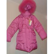 Пальто детское зимнее Лола фото