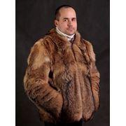 Одежда верхняя мужская из кожи и меха фото