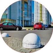 Парковочные барьеры из бетона в Минске фото