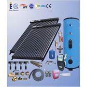 Солнечный коллектор (водонагреватель), сплит система (20 трубок) на 150 литров фото