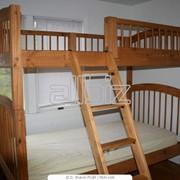 Кровати двухъярусные детские Донецк, кровать-чердак заказать Донецк фото