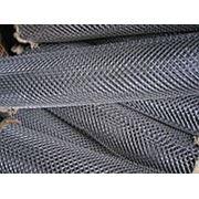 Сетка - рабица,пров. д. 1,8мм (оцинкованная), высота - 1,2м фото