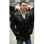 Куртки мужские кожаные фотография