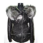 Зимние кожаные куртки