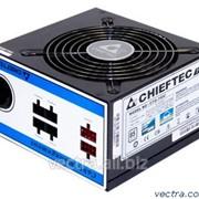 Блок питания Chieftec RETAIL A-80 CTG-750C,12cm fan,a/PFC,24+8,4xPeripheral,6xSATA,2xPCIe,modular фото