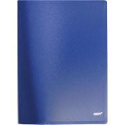 """Папка с боковым прижимом """"Proff Next"""", А4, 0.60 мм, синяя фото"""