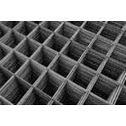 Сетка сварная металлическая,ячейки 100Х100 мм.Диаметр 5 мм.Для выполнения армирования в строительстве. фото