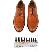 Немецкая краска для обуви Color рыжий фото