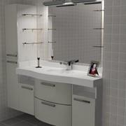 Мебель для ванной комнаты по индивидуальному проекту фото