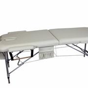 Алюминиевый 2-х сегментный стол для массаж фото