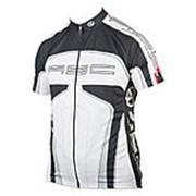 Велофутболка 8-7059562 Men Sport 12B черно-белая с молнией XXL AUTHOR (Чехия) фото
