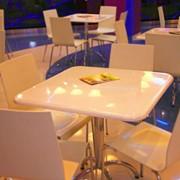 Столы для кафе и ресторанов из искусственного камня фото