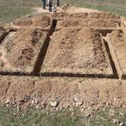 Фундаменты, земляные работы. фото