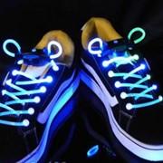 Шнурки светящиеся фото