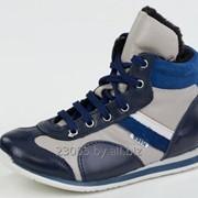 Ботинки кожаные (размер 28-33) фото