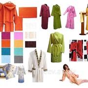 Пошив текстиля для саун и гостиниц фото