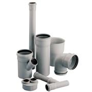 Труба нПВХ канализационная внутренняя фото
