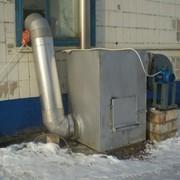 Печь отопительная стальная с вентилятором фото