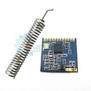 Радиомодуль SI4432 (беспроводной приёмопередатчик) с антенной 433 МГц фото