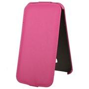 Чехол-флип для Alcatel POP S9 розовый фото