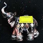 Сувенир Слон 3711 11,5х12 см. фото
