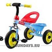 Трехколесный велосипед Fisher Price HF1 голубой с пластиковыми колесами 10-8 фото