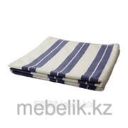 Банное полотенце белый, синий КЭЛВШЁН фото