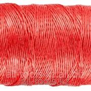 Шпагат Зубр многоцелевой полипропиленовый, красный, 1200текс, 110м Код:50039-110 фото