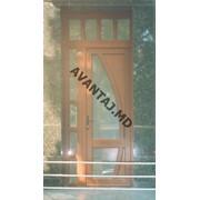 Двери из красного дерева, арт. 5 фото