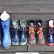 Обувь резиновая детская фото
