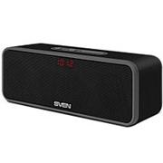 Колонка портативная Sven PS-170BL,10 Вт, bluetooth, FM, micro USB, LED дисплей фото