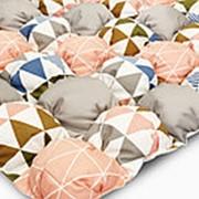 Коврик-бомбон для домика Triangles фото