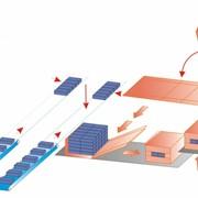 Машина для укладки брикетов и их упаковки в картонные коробки полностью автоматическая MILCOM SKA фото