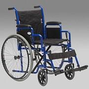 Инвалидная коляска H 035 18 дюймов, литые быстросъемные колеса фото