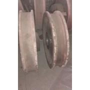 Крановые колеса (холостые,приводные) фото