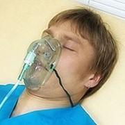 Кислородная маска с трубкой, детская фото