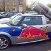Реклама на авто фото