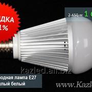 Светодиодная лампа Е27 Артикул BT-DLS12WE27, теплый белый фото