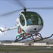 Легкий вертолет Schweizer 300C фото