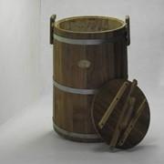 Кадка (дубовая) для хранения солений 3-80л фото