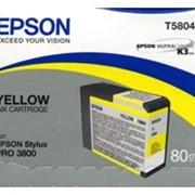 Картридж Epson Yellow для Stylus Pro 3800 желтый фото