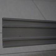 Профиль алюминиевый Т-образный с пазами для керамогранита фото