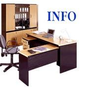 """Набор офисной мебели """"Инфо"""" фото"""