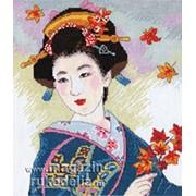 Набор для вышивания Созерцание листопада фото