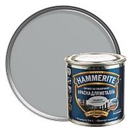 HAMMERITE SMOOTH гладкая эмаль по ржавчине, серебристая (0,25л) фото