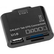 Считыватель карт памяти картридер для Samsung Galaxy Tab OTG Defender Sam-Kit microSD-TF, SD-MMC, порт USB Af фото
