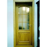 Двери из массива дерева фото