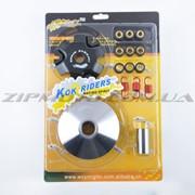 Вариатор передний тюнинг Honda DIO AF48 KOK RIDERS ролики, палец, пружины, скользители фото