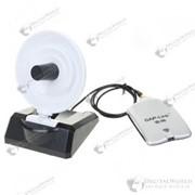 Wifi адаптер высокой мощности 2500 мВт в комплекте с направленной антенной 25 dbi фото